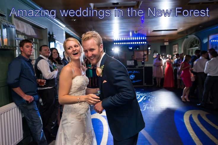 Another amazing wedding disco in the New Forest - DJ Martin Lake