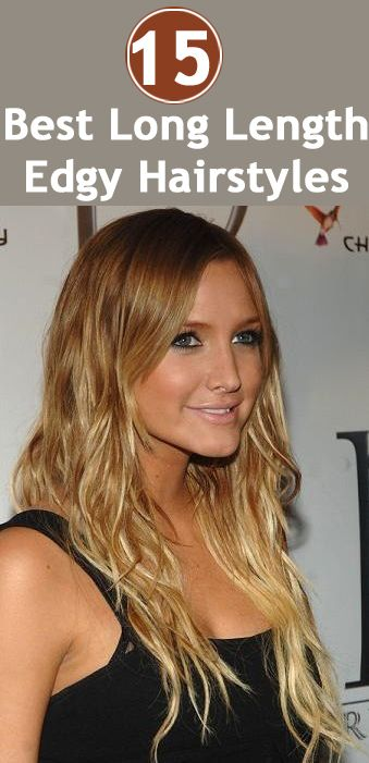 15 Splendid Edgy Long Length Hairstyles