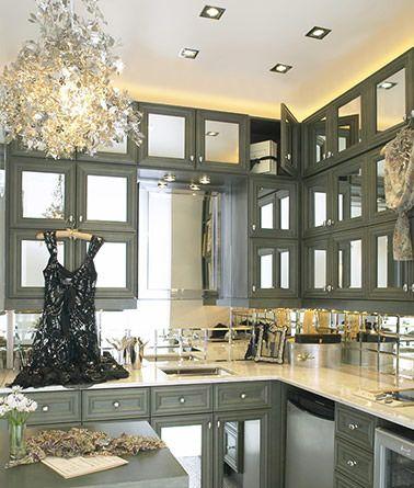 kitchen cabinet door » mirrored kitchen cabinet doors - inspiring