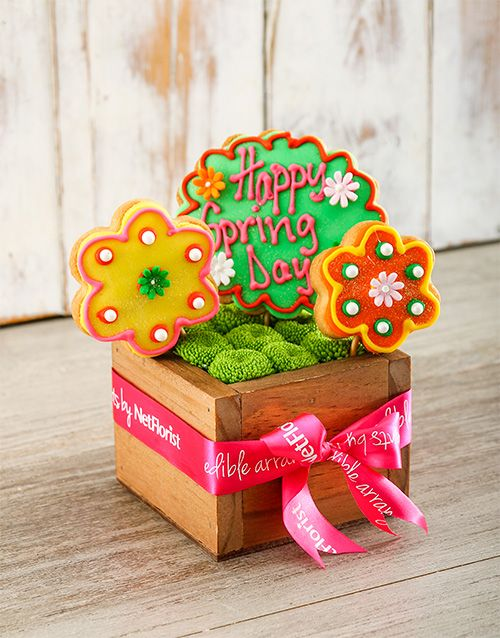 Buy Happy Spring Day Biscuits and Sprays Online - NetFlorist