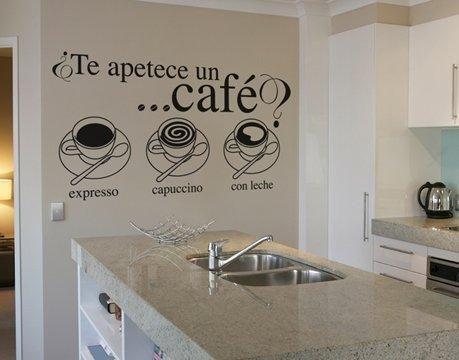 Café...: Decor, To Decorate, The Kitchen, Furnishing, Con Vinilos, Ideas Para, Wall Decal, Decorative Vinyls, Con Google