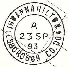 Annahilt / County Down;      Irish Post Offices & Postmarks