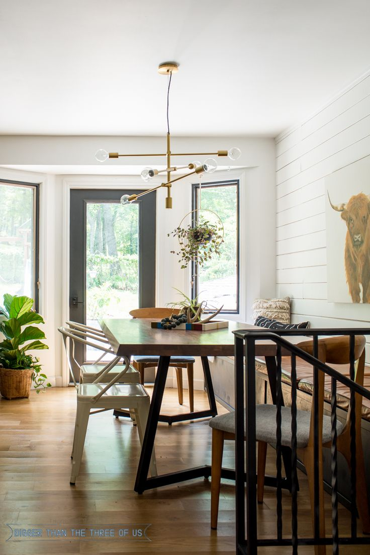 Leather Bench Seat In Eat In Kitchen