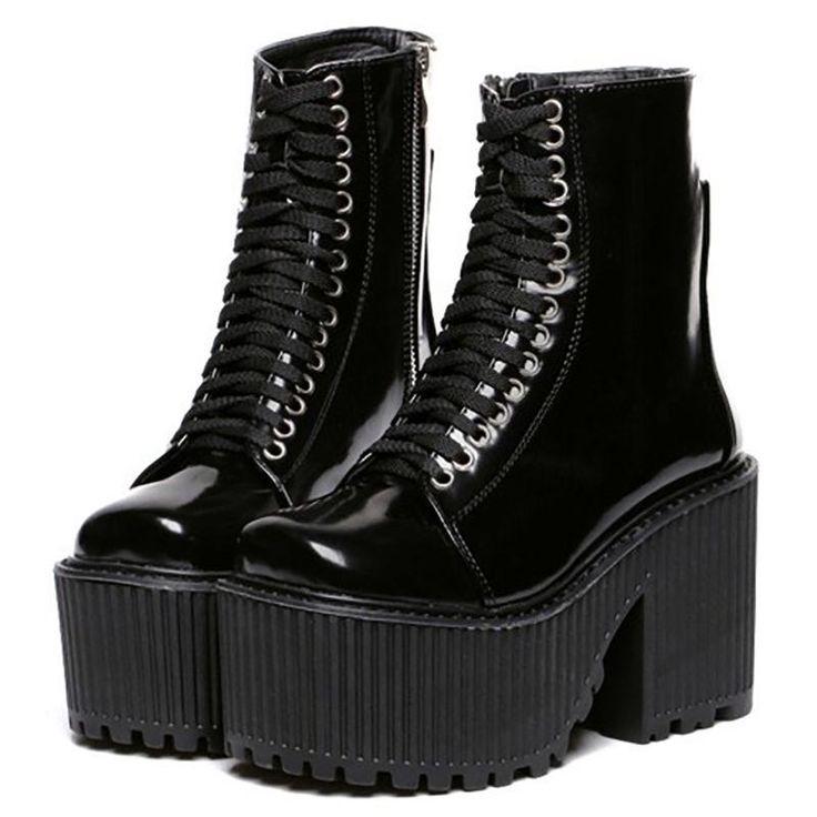 MOTO GRUNGE BOOTS,  Palegrunge,  grunge, tumblrclothes, tumblrstyle, tumblroutfit, kawaiistuff,  kawaii, aesthetic, aesthetics aestheticclothes, softgrunge, softgoth, tumblrstore, grungestyle, outfitgoals, outfitidea, boogzel, boogzelapparel, kokopie boots ,unusual shoes, cute, socks