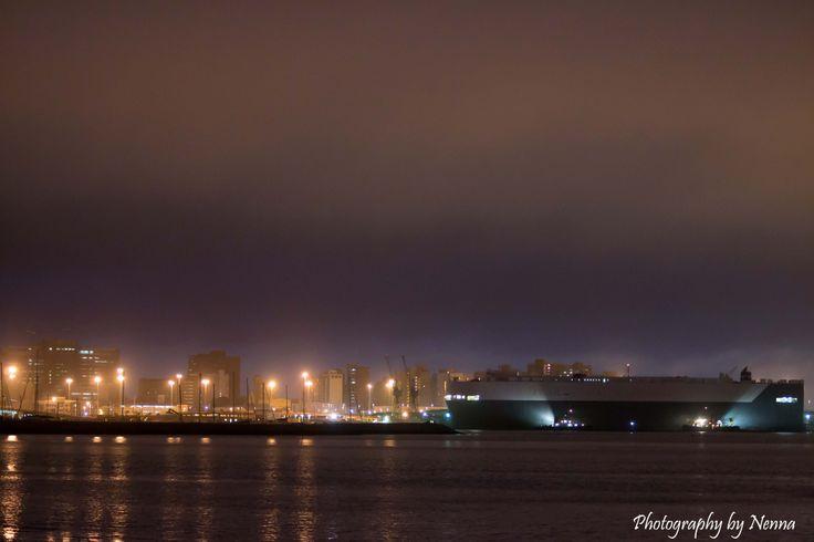 """Escorting at Durban harbour"""