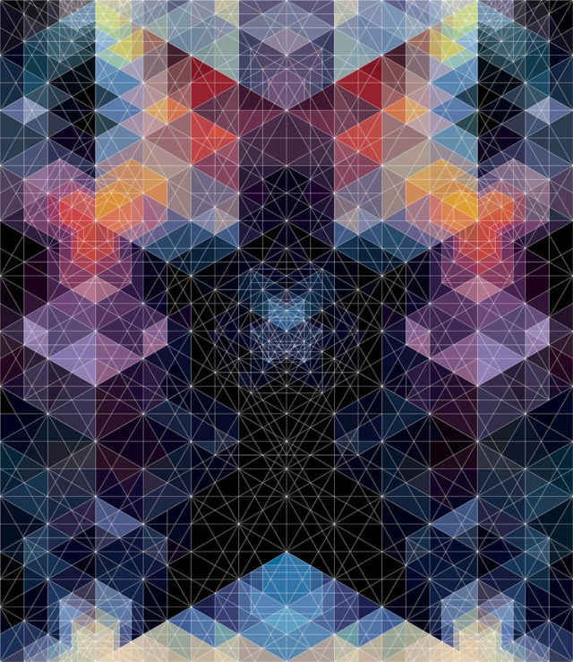 Geometric Art by Andy Gilmore - BlazePress