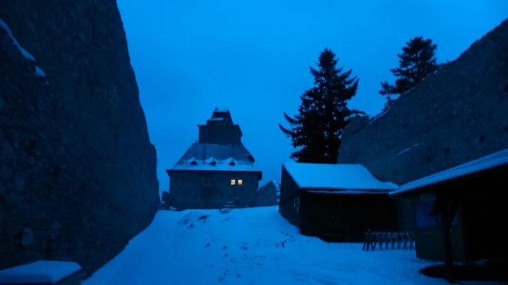 Kašperk castle, twilight :)