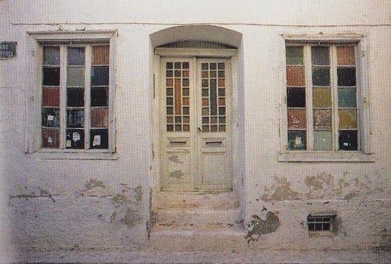 gekleurde ramen en met vinger tekeningen in maken  voor binnenkijk