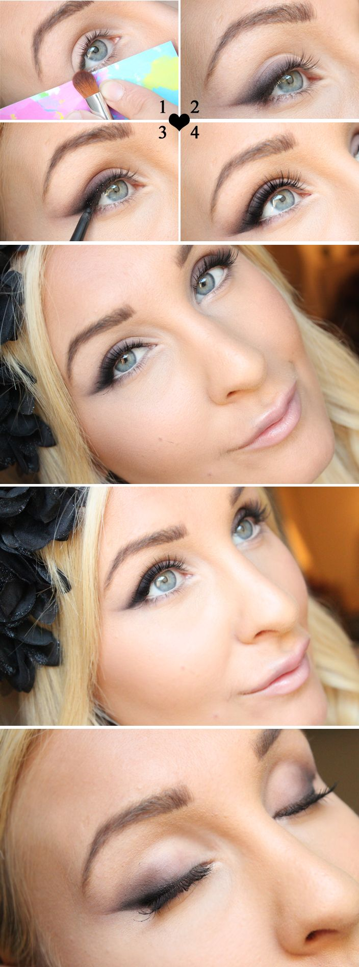 Ahhh. That's genius. Tutorial – Smokey cat eye | Helen Torsgården - Hiilens sminkblogg | Veckorevyn