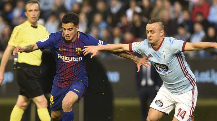 Celta Vigo Vs Barcelona, Laga Diwarnai Kartu Merah, El Barca Gagal Menang