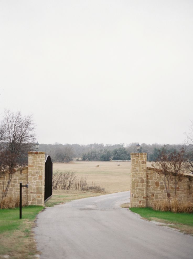 entrance to the orchard wedding venue by