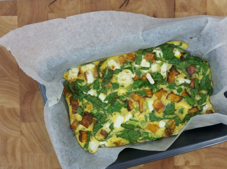 Low FODMAP Frittata recipe, an easy and healthy breakfast or snack!