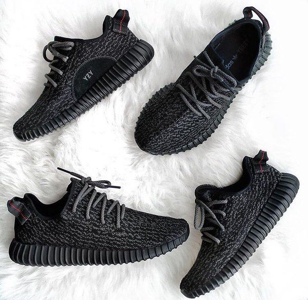 Adidas by Kanye West Yeezy Boost 350 Pirate Black Follow us on Twitter: twitter.com/...
