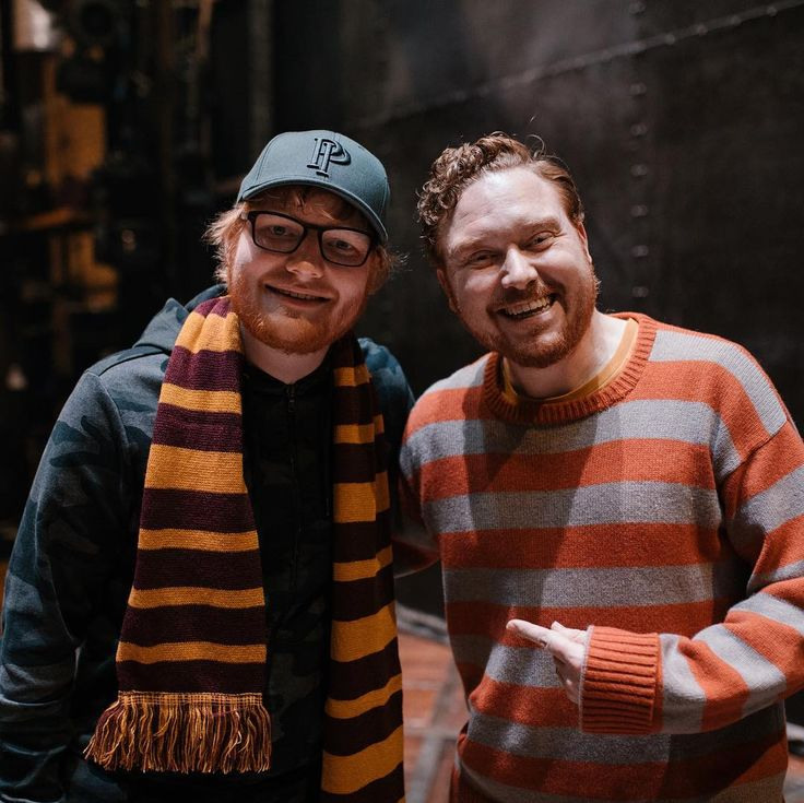 Ron Weasley and Ed Sheeran. Name a more iconic duo. We'll