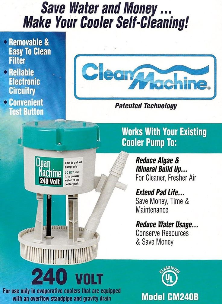 mastercool clean machine water filter pump system for evaporative cooler back to earth surplus