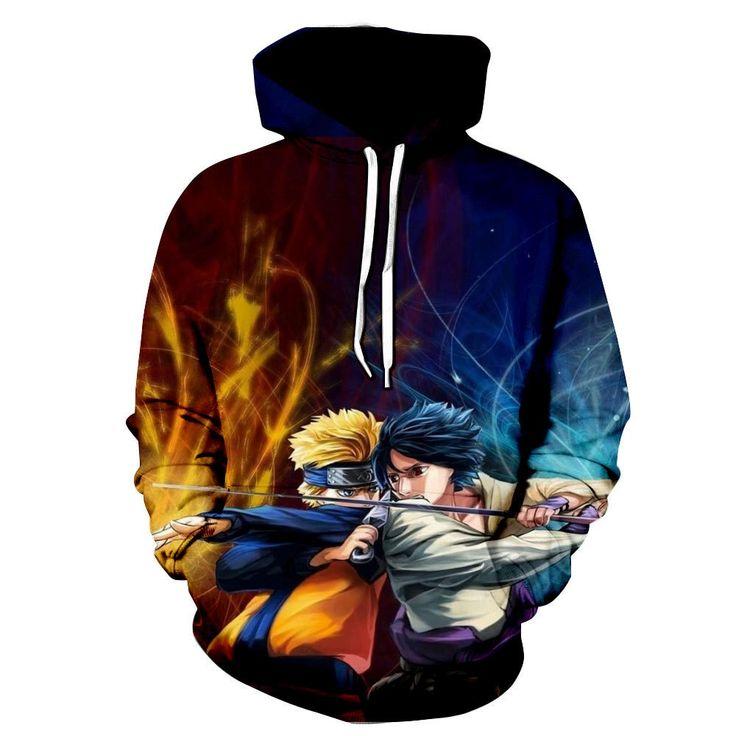 Naruto hoodie jacket naruto hoodie sweatshirt fashion