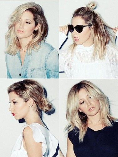 After using this celeb inspo to take the plunge and finally cut your hair, let Ashley Tisdale show you how to style your shorter 'do.