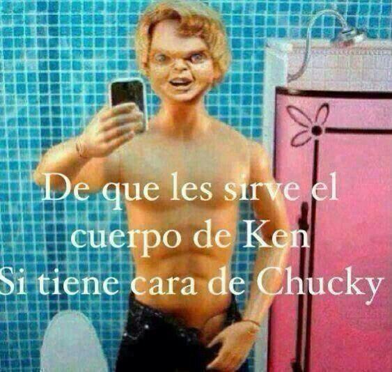 Cara de Chucky