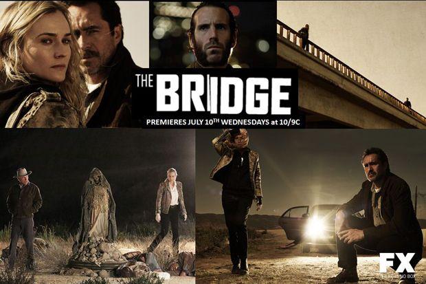 The Bridge-Season 1. New show I started watching.