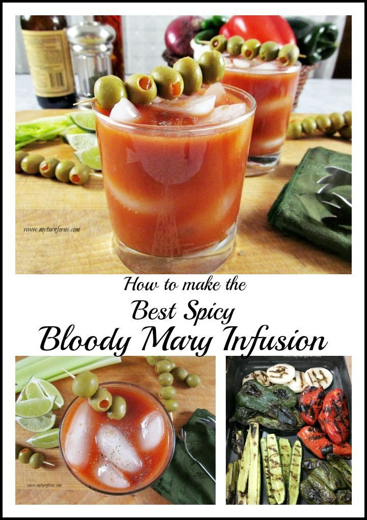 How to Make the Best Spicy Bloody Mary Infusion with spicy peppers and onions