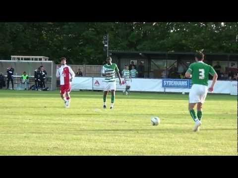 Poole Town FC v Yeovil Town FC 17th July 2012 - YouTube