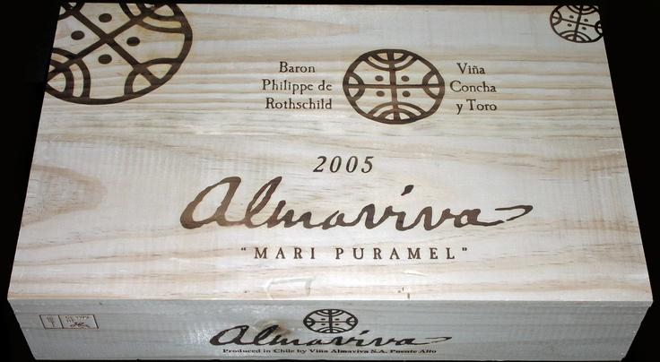 Almaviva 6 Bottle Wine Case from Chile