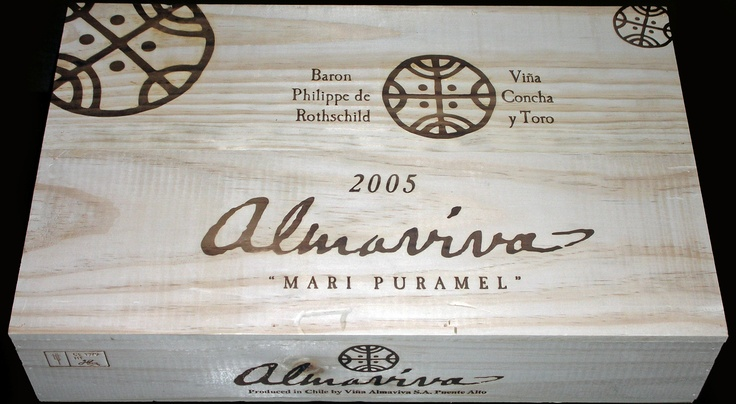 Almaviva 6 Bottle Wine Case from Chile