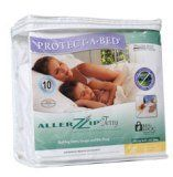 Protect-A-Bed AllerZip Terry Mattress Cover Queen CVR030 by AllerZip. $77.99. Our new BugLockTM 3 sided zipper system and ALLERZIPTM seal provide complete protection against allergens, dust mites and bed bugs. Bug Entry, escape and bite proof for complete mattress or box spring protection and a healthy, allergy free sleep zone.   Certified by an Entomology Laboratory to be bed bug proof Superior protection against bedwetting Dust mite barrier and allergy prote...