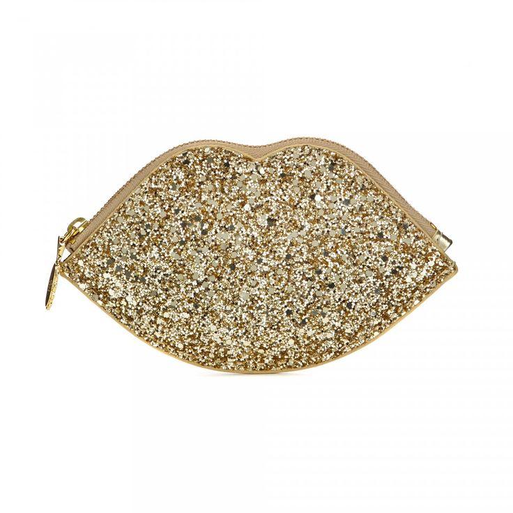 lulu guinness sparkle lip pouch - Google Search