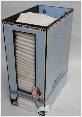 BastelBlog von Anja & Katy: Windelspender/diaper dispenser