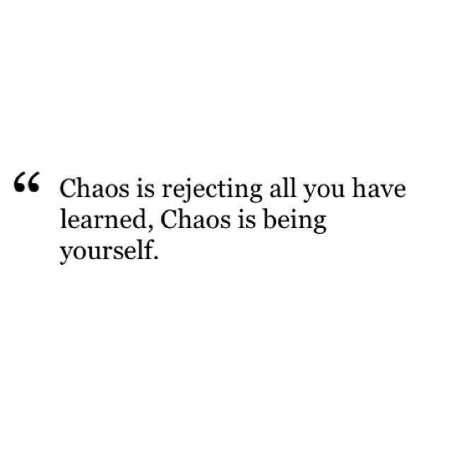Emil Cioran #nihilism #nihilistquote #emilcioran Sometimes, I just want to let the chaos free.