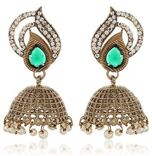 Vvs Jewellers White Pearls Beautiful Green Kundan Stylish... https://www.amazon.com/dp/B01L8N0DMW/ref=cm_sw_r_pi_dp_x_USwOybX94T7KV