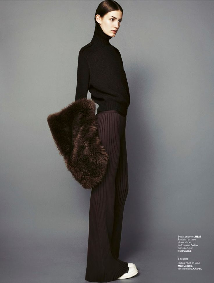 Kinga Bajor By Jan Lehner For Stylist France #078 29th January 2015