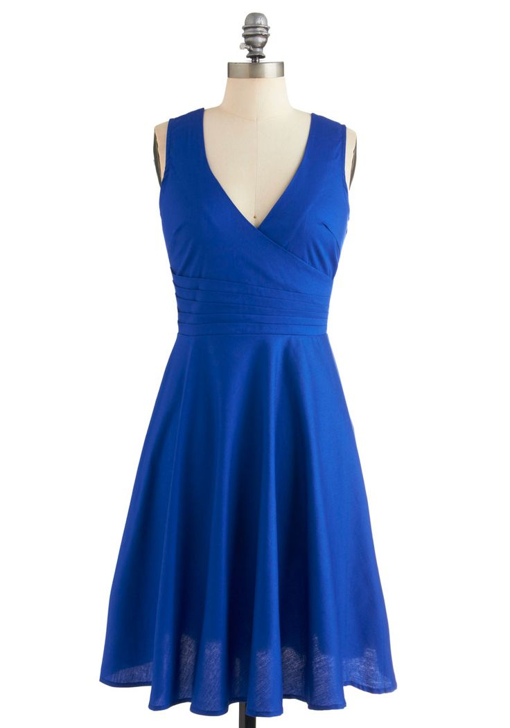 Beguiling Beauty Dress in Blue