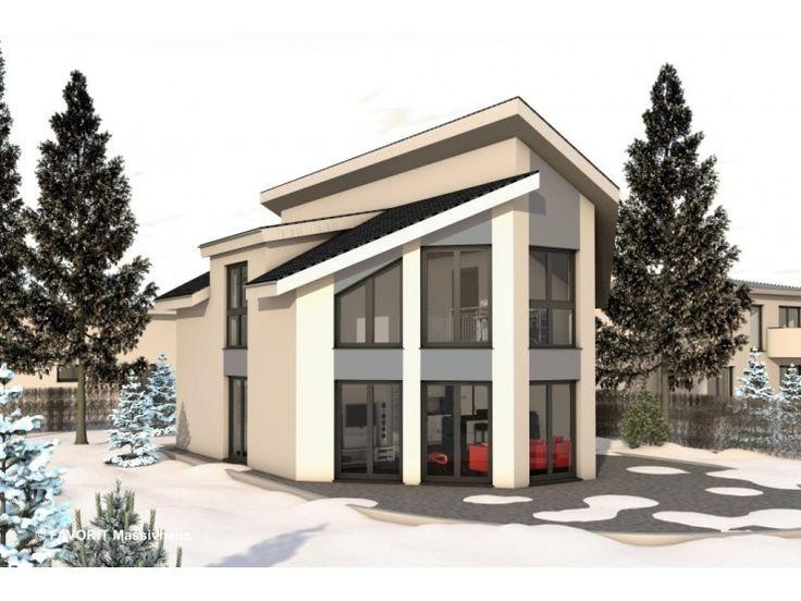 Haus bauen modern pultdach  Die besten 25+ Nullenergiehaus Ideen auf Pinterest ...