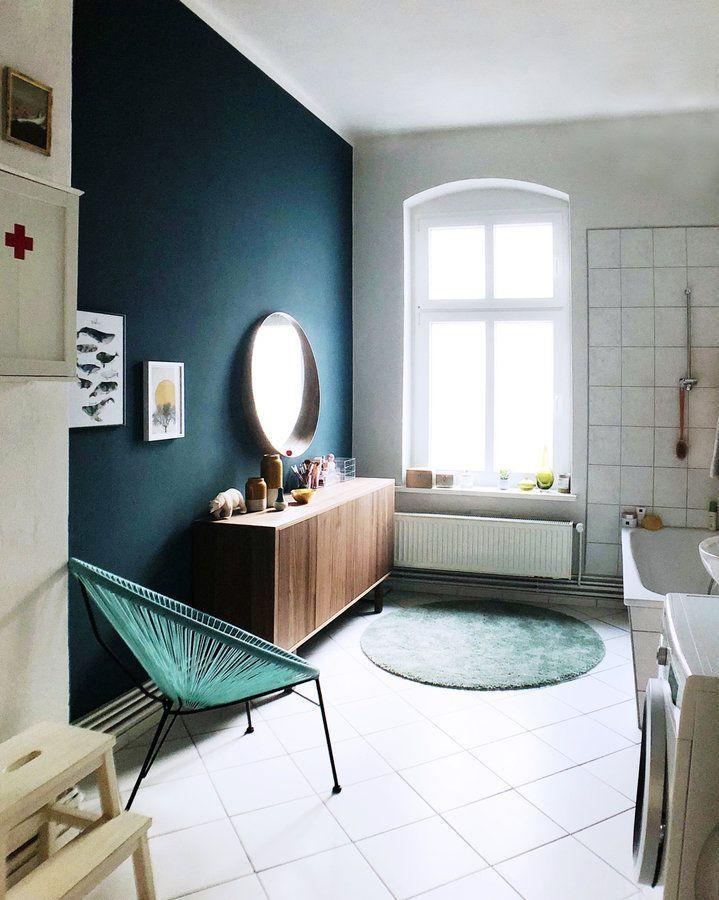 Die besten 25+ Dunkelblaue wände Ideen auf Pinterest Dunkel - wandfarben fürs wohnzimmer