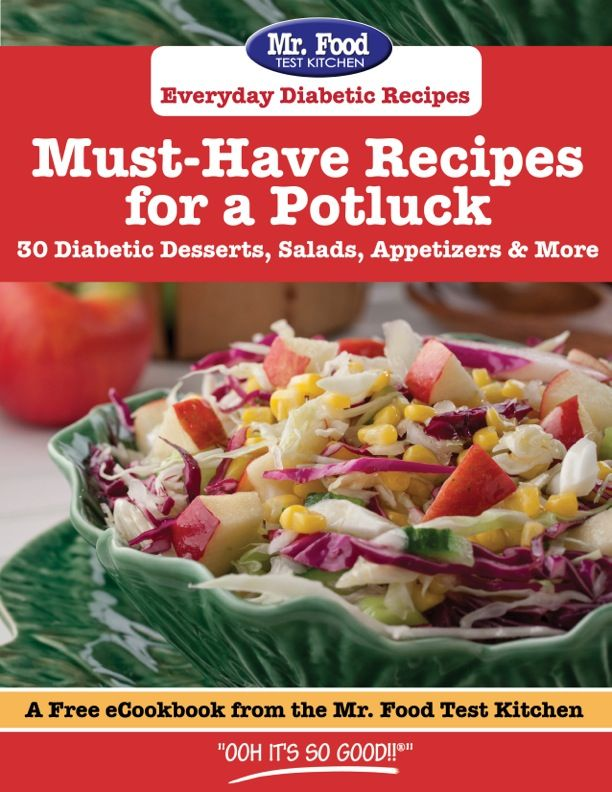 9 best free ecookbooks images on pinterest diabetic dinner recipes must have recipes for a potluck 30 diabetic desserts salads appetizers more forumfinder Choice Image