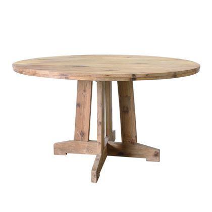 Een mooie tafel met een nog mooier verhaal. Het teakhout dat voor deze HKliving tafel wordt gebruikt komt van oudere, houten producten die worden gerecycled naar prachtig, herbruikbaar hout. Een uniek en duurzaam ontwerp dus!
