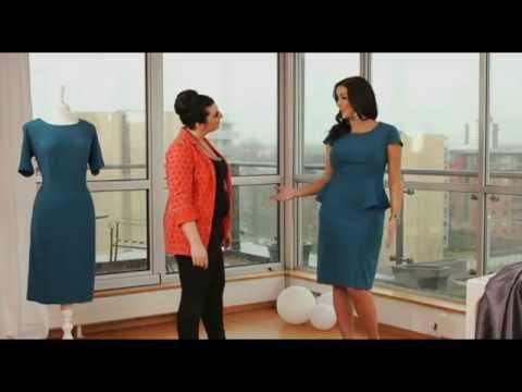 Fashion World - Clever Clothes - Personalised Fit Peplum Dress