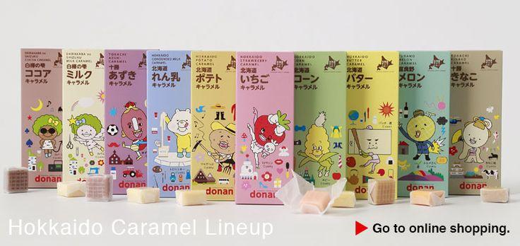 Hokkaido Caramel Lineup