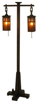 ADK Adirondack Craftsman Lighting Mission Style Floor Lamp craftsman-floor-lamps