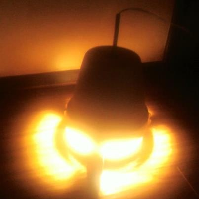 Chicken Heater Light Bulb And Clay Pot Farming Ideas