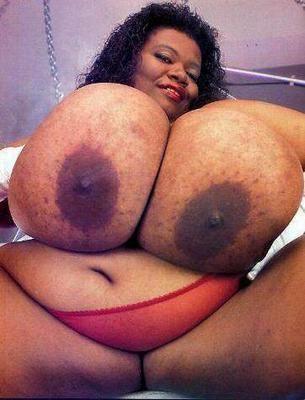 Mama Huge tits black