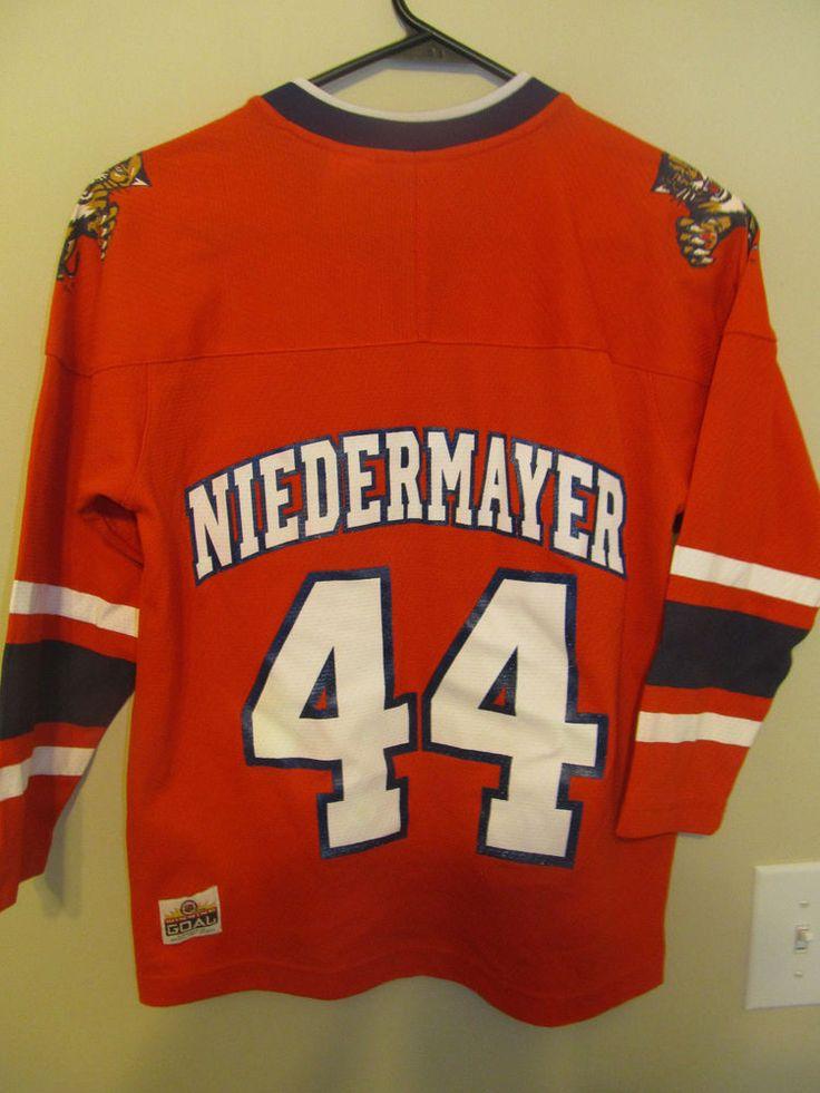Scott Niedermayer - Florida Panthers Hockey Jersey - Youth small  #WinningGoal #FloridaPanthers