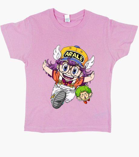 T-shirt Bambino, manica corta, rosa