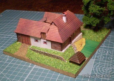 Usedlost z Ceskomoravske vrchoviny [ABC 1994-9] из бумаги, модели бумажные скачать бесплатно - Дом - Архитектура - Каталог моделей - «Только бумага»