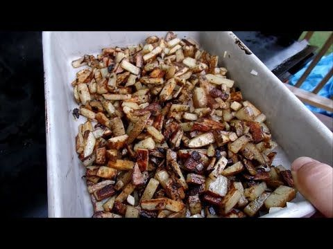 Home Fries on the Blackstone Grill - YouTube