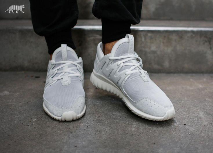 Adidas Tubular Radial All White