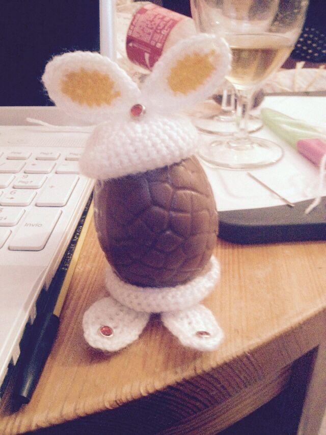 Porta uovo, preso da creatività organizzata