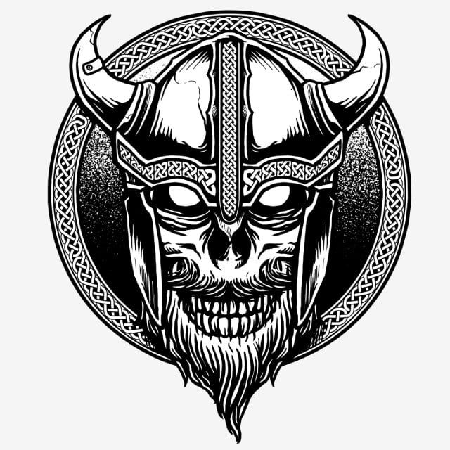 Viking Head Skull Design Skull Viking Head Png Transparent Clipart Image And Psd File For Free Download Viking Skull Viking Head Vikings